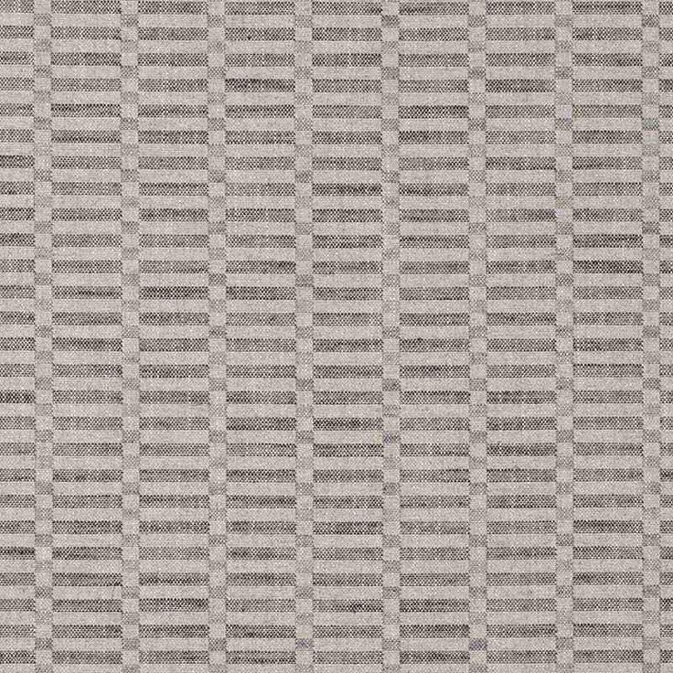 Warwick Fabrics : LANZA, Colour CHARCOAL