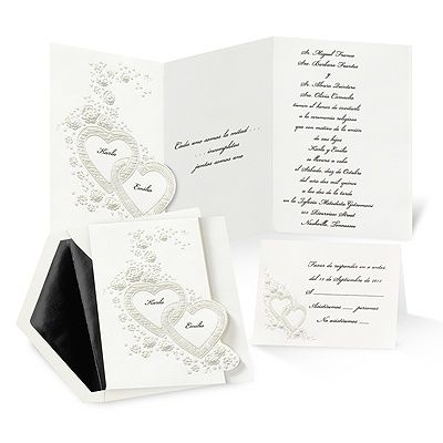 26 best wedding invitations from Michaels images on Pinterest