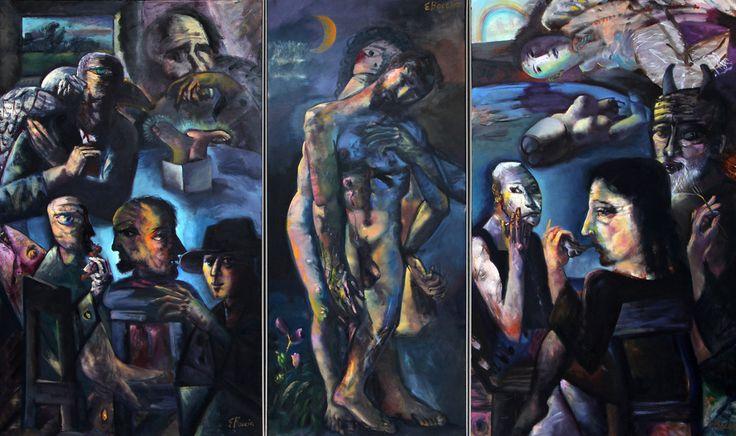 American Figurative Expressionism Edward Boccia