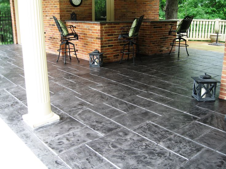 Check Out Our Latest Repaired U0026 Resurfaced Decorative Concrete Patios In  Philadelphia! Call Us @