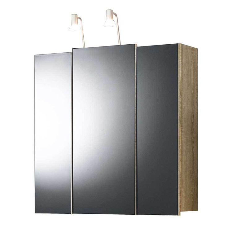 3D Spiegelschrank in Eiche Sonoma Beleuchtung Jetzt bestellen unter: https://moebel.ladendirekt.de/bad/badmoebel/spiegelschraenke/?uid=b0472a89-b45d-5c7b-b65e-753d27104510&utm_source=pinterest&utm_medium=pin&utm_campaign=boards #badezimmerkommode #bad #beistellschrank #spiegelschrank #spiegelschraenke #badschrank #badmoebel #badspiegelschrank #spiegel #badeschrank #lichtspiegelschrank #badezimmerspiegelschrank #badezimmer