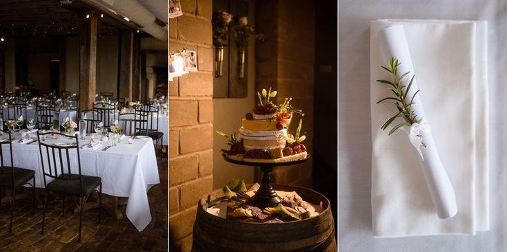 Reception and cake setup | Mudbrick Vineyard & Restaurant, Waiheke Island