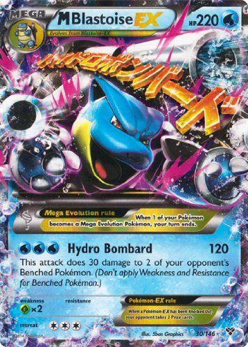 M/Mega Blastoise EX (XY #30/146) Pokemon Card [Ultra-Rare/Holo-Foil]                                                                                                                                                                                 More