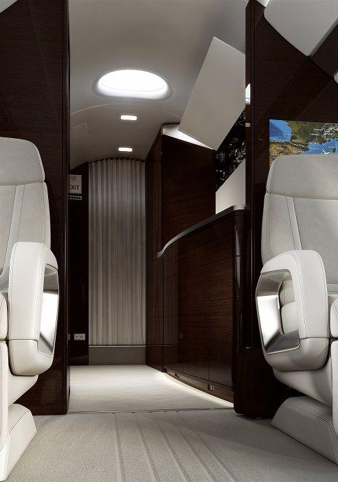 Dassault Falcon 5X Transport Aero Interior