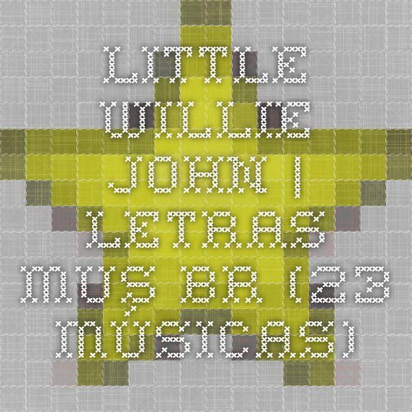 Little Willie John | Letras.mus.br (23 músicas)