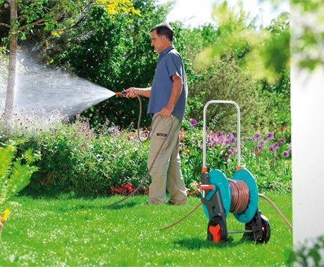 Robust And Stable Hose Reels For More Practical And Comfort Mobile Watering