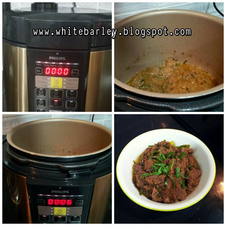 how to cook barley in pressure cooker