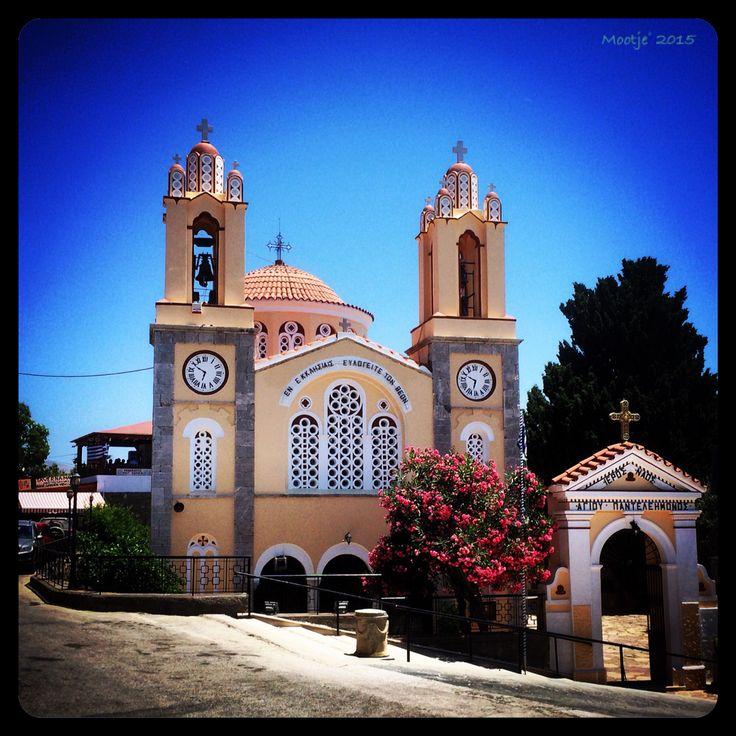 Siana church Rhodos