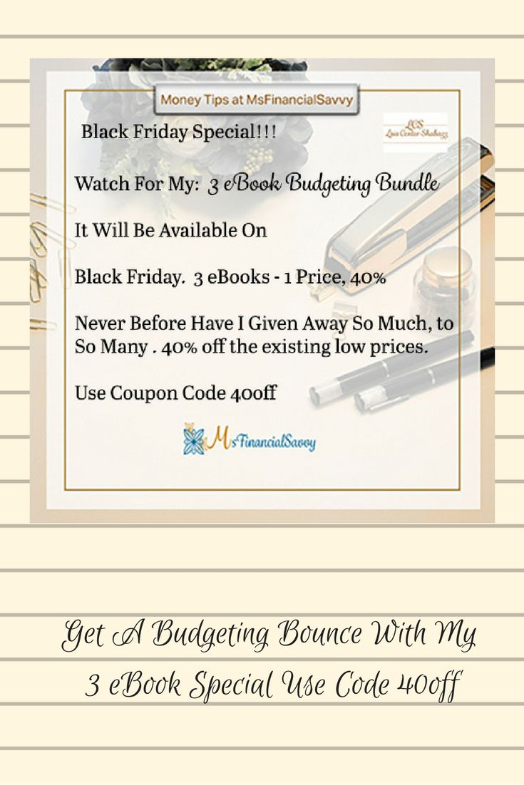 146 best ways to save money images on pinterest budgeting get your black friday ebook budgeting bundle now become an expert at big thing fandeluxe Images