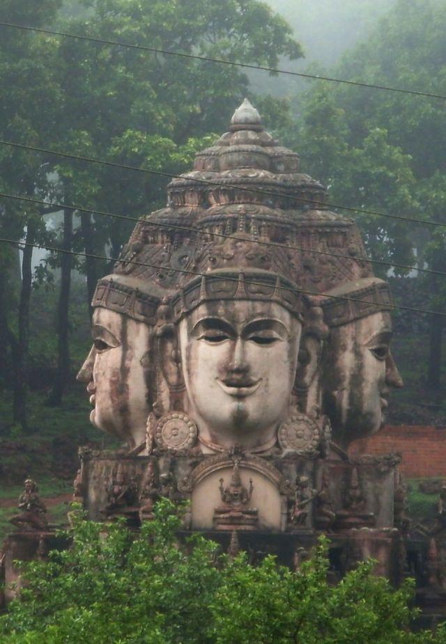Temple , Madhya Pradesh , India.                                                                                                                                                                                 More