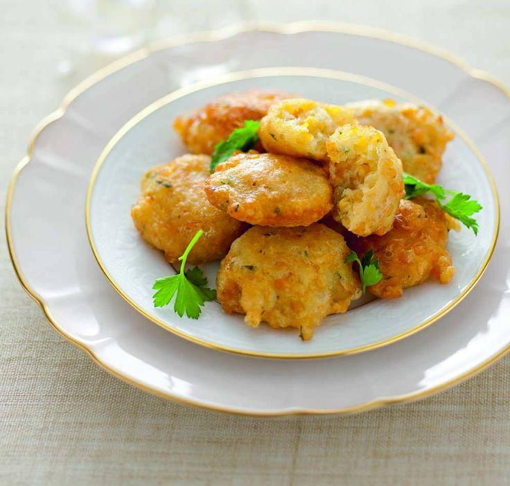 Frittelle di lenticchie rosse al prezzemolo - Cucina Naturale