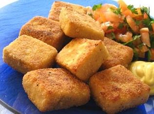 Mini Tofu Empanado