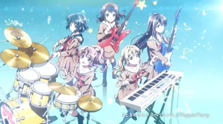 [VIDEO] Band anime, BanG Dream!, rocks out with a new PV - http://sgcafe.com/2017/01/video-band-anime-bang-dream-rocks-new-pv/