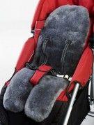 Charcoal strollerliner
