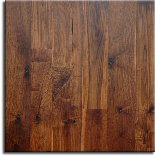 Wide Plank Rustic Walnut Flooring - manufactured by Appalachian Woods