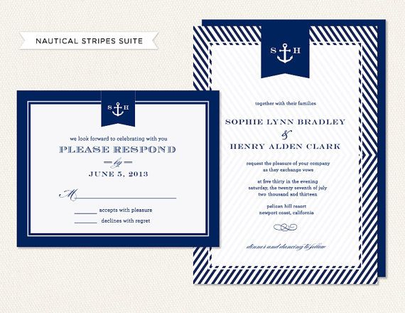 The 25 best Nautical invitations ideas on Pinterest Nautical