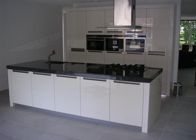 Keuken Greeploos Modern Wit Met Castel Oak : ... afbeeldingen over ...