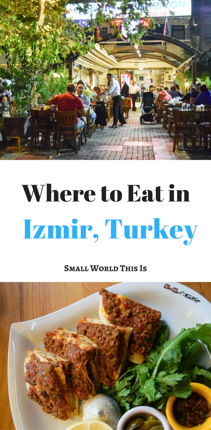 A guide to where to find delicious food in Izmir, Turkey, including a comic cafe and the best late-night spot for kebabs | izmir turkey restaurants | izmir turkey travel