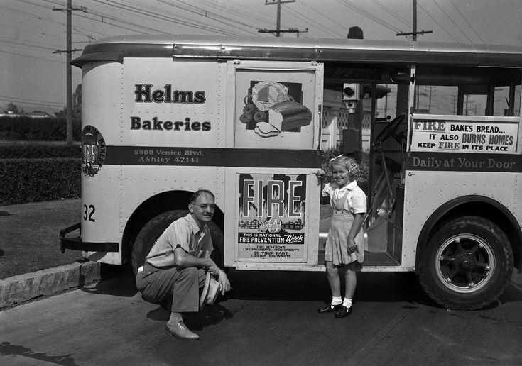 Helms bakery trucks los angeles google search