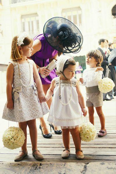 Bodas con estilo foto 09 - TELVA #WeddingKids #FlowerGirl
