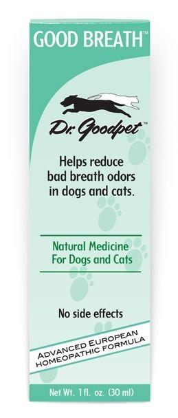 Homeopathic Bad Dog Breath Remedy - Natural Dog Breath Medicine