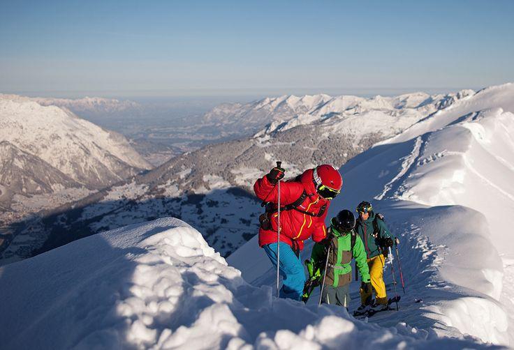 Gipfelsturm Zamangspitze - Freeridevergnügen vom Feinsten #silvrettamontafon #skiing #freeride #neverstopexploring