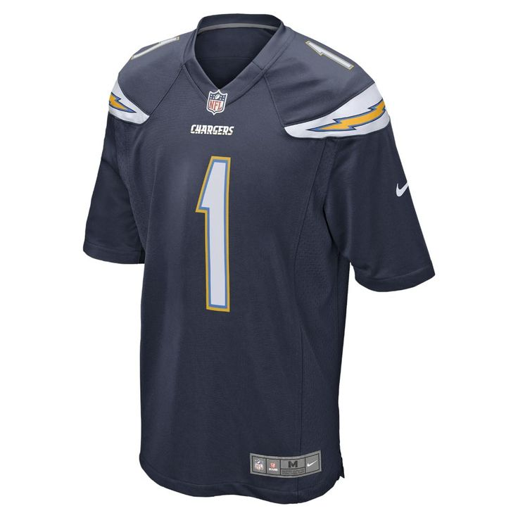 Nike NFL Los Angeles Chargers (Williams) Men's Football Game Jersey Size Medium (Blue) https://www.fanprint.com/licenses/los-angeles-chargers?ref=5750