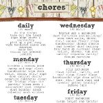 1000 Ideas About Housekeeping Schedule On Pinterest