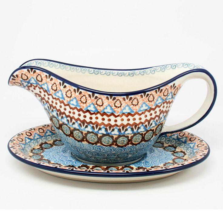 Gravy Boat #1359. Gravy BoatsCeramic PotteryPolish PotteryStonewareKitchen  Dining