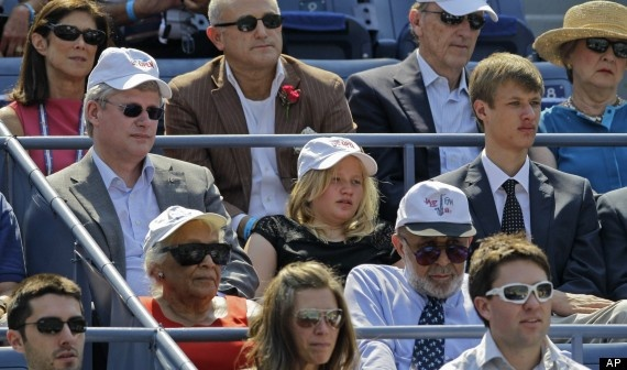 Stephen Harper's Hat At U.S. Open Triggers Chuckles On Twitter
