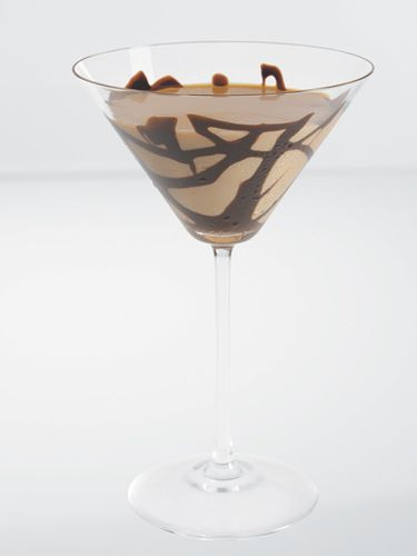 Chocolate Cherry Rosè:    1 oz. Courvoisier Rosè  1 oz. Effen Black Cherry Vodka  1 oz. DeKuyper Crème de Cacao  2 oz. cream    Pour all ingredients into a shaker filled with ice. Shake and strain into a chilled cocktail glass that has been drizzled with chocolate.