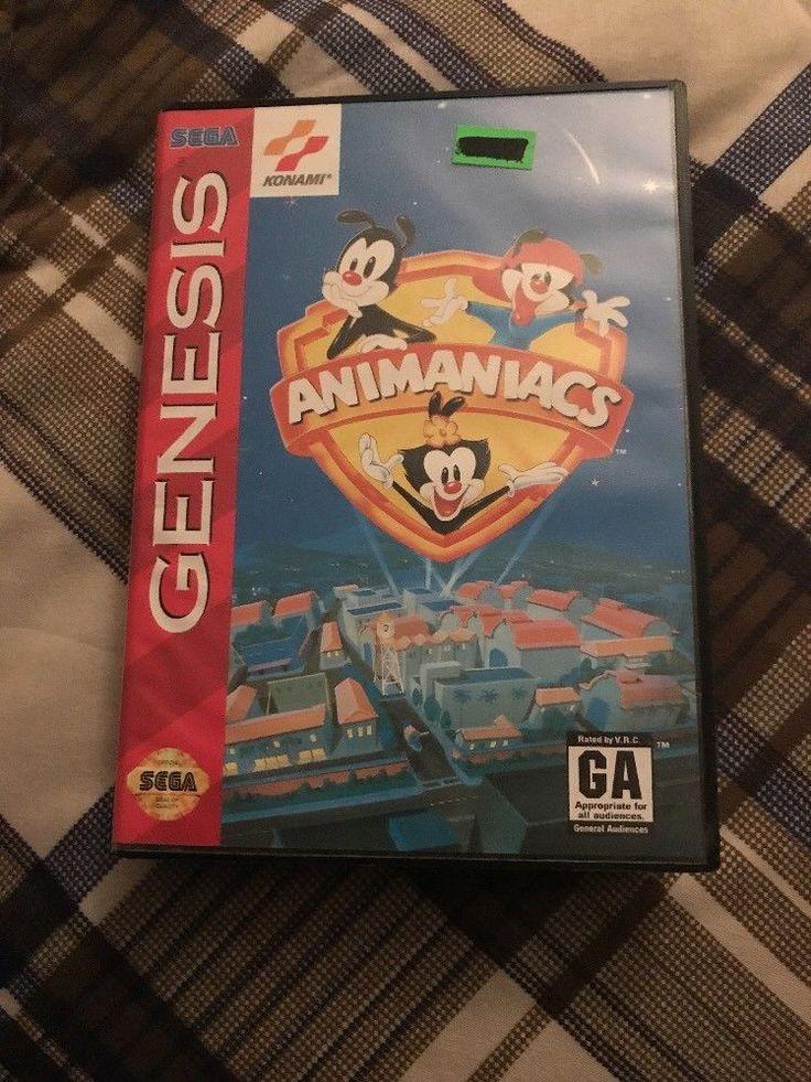 Animaniacs (Sega Genesis, 1994)  | eBay