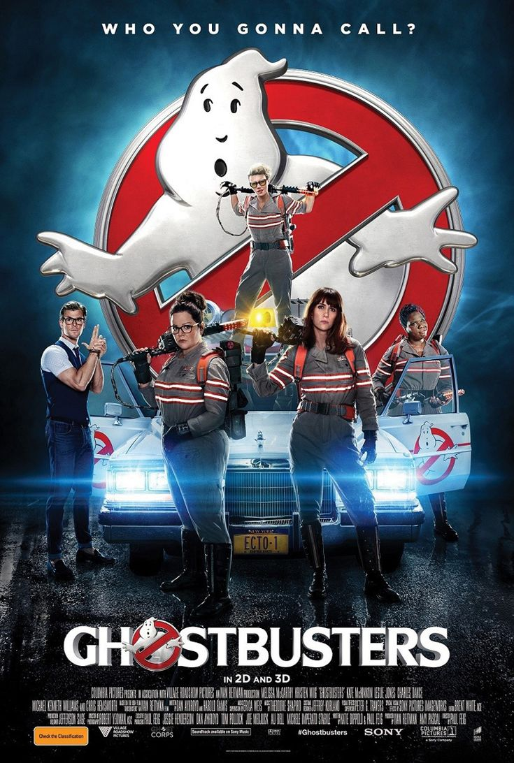 Ghostbusters. Bustin' makes me feel good!