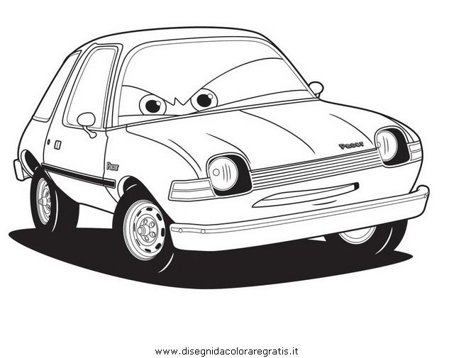 17 best images about cars disegni da colorare on for Disegni da stampare e colorare cars