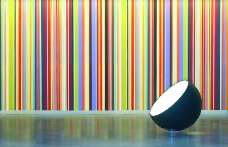 #Biluna floor lamp, #design by Luc Ramael for #Prandina #lighting  www.prandina.it