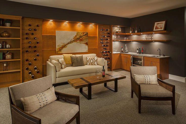 Guildcraft, LLC | Gallery | Wine Cellars & Wet Bars
