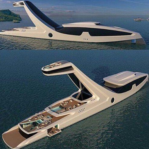 Super Yacht Designed And Built By CGabriele Teruzzi