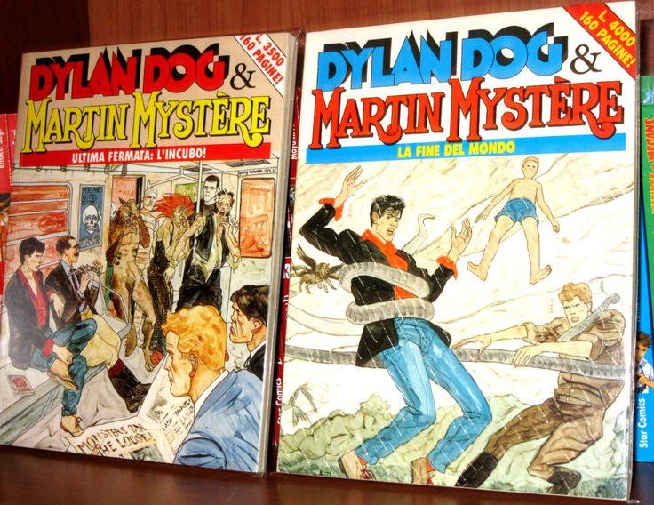 DYLAN DOG & MARTIN MYSTERE Ultima fermata: l  incubo - La fine del mondo