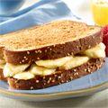 Banana Bliss Breakfast Sandwich