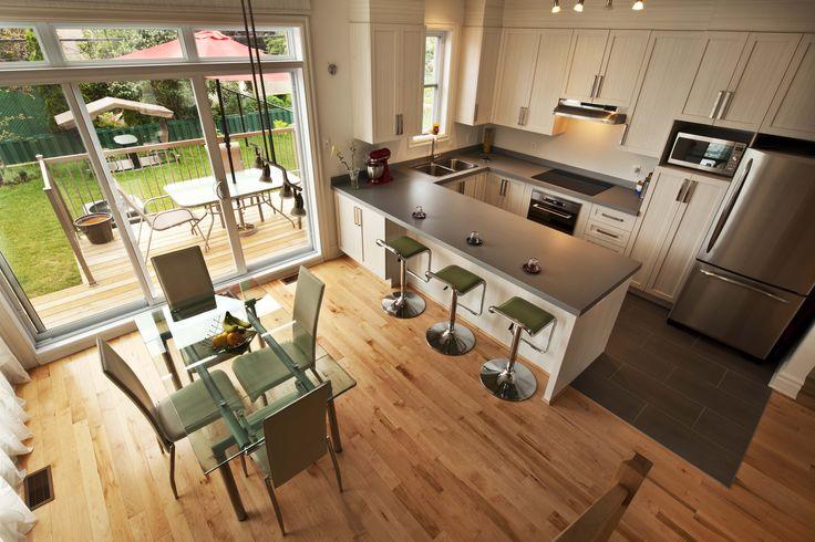 cuisine maison jumelée Habitations Laurendeau