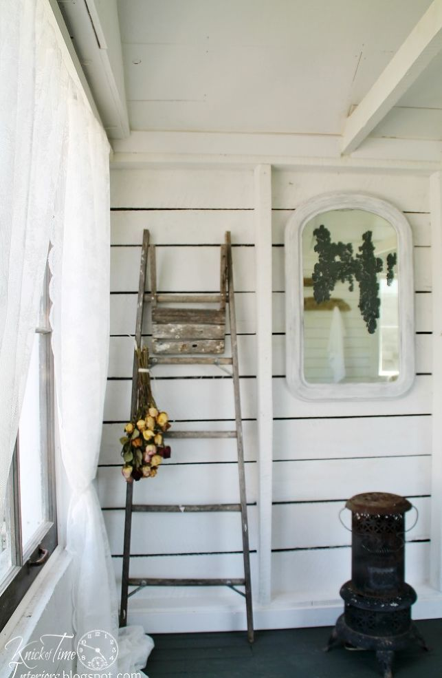 Hometalk :: An Old Farmhouse Shed Becomes a Cottage Style Guest Room