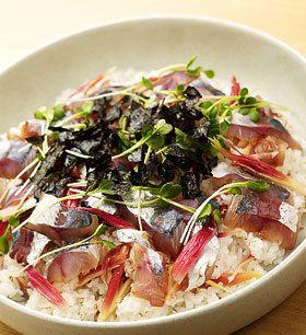 みょうがのピクルスで鯵の手こね寿司 by ミツカンお酢 [クックパッド ...