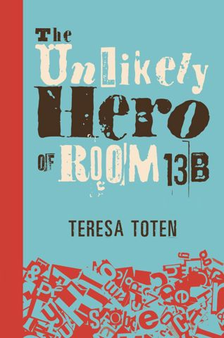 Realistic fiction and romance wrapped up in one.  OCD group therapy members adopt Superhero personas.  Broken families, all manner of cumpulsions.  Everyone is broken to some extent.  Can any one or all be saved?  What does it mean to be a hero?  What does it take to be a hero?  I LOVED this book.  A keeper and a must read.  Read the review at CM Magazine: http://www.umanitoba.ca/cm/vol20/no3/theunlikelyheroofroom13b.html