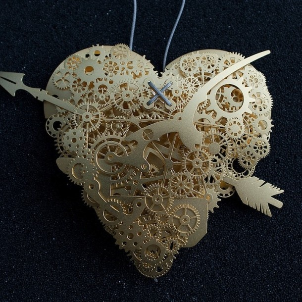 Paper heart by Frank Tjepkema: Wood Work, The Artists, Papersculpture, Paper Heart, Paper Art, Valentines Day, Paper Sculpture, Frank Tjepkema, Paper Crafts