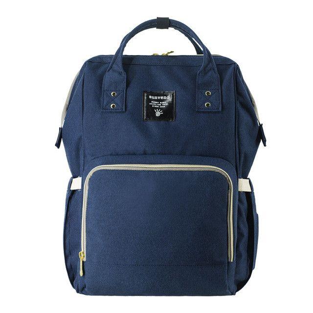 Sunveno Fashion Mummy Maternity Nappy Bag Brand Large Capacity Baby Bag Travel Backpack Desinger Nursing Bag for Baby Care