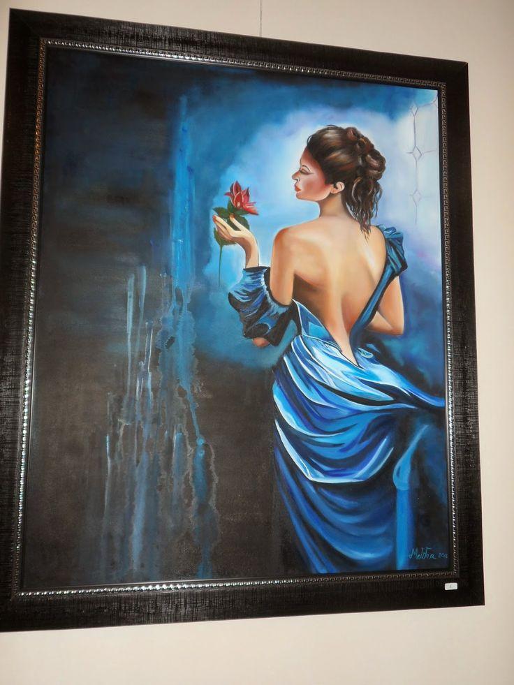 Hobi, tasarım, yağlı boya tablo