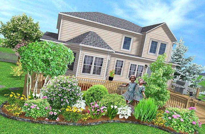 landscaping ideas for front yard ranch house landscape
