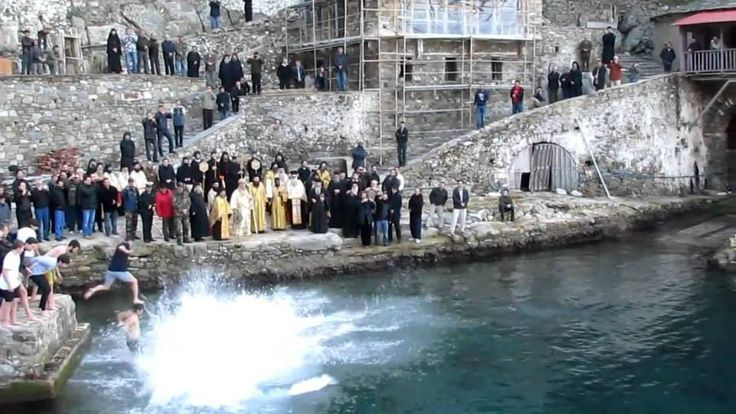 Θεοφάνεια στην Ιερά Μονή Γρηγορίου Αγίου Όρους - Epiphany at the Holy Monastery of Gregoriou on Mount Athos
