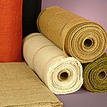 Great prices on Burlap Rolls in various widths