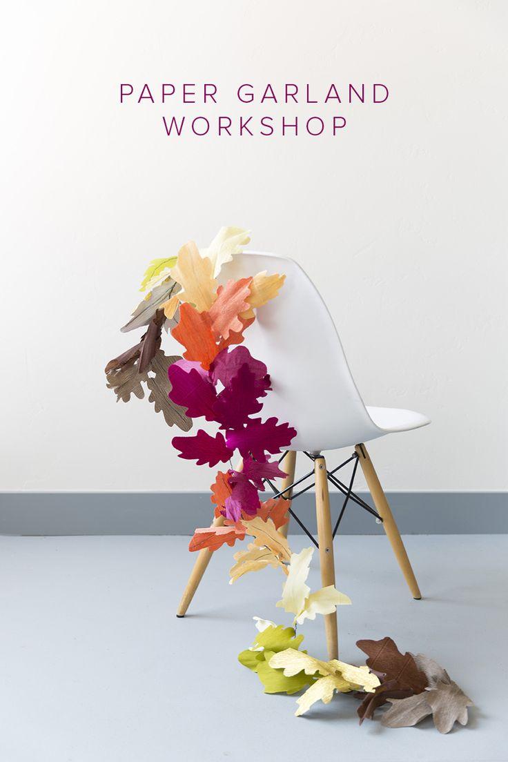 Wil je graag styling advies, kom dan kijken op de website www.littledeer.nl #slinger #papier #kleurrijk #vilt #inspiratie #creatief #gezellig